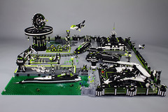 "Projekt ""Blacktron II Special Forces"" Part 7 ""Last Part"" (stephann001) Tags: base blacktron black lego classic space"
