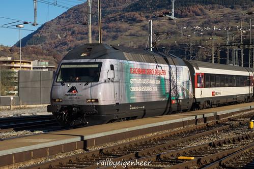 """SBB CFF FFS Re 460 107-6 """"Alp Transit"""""""
