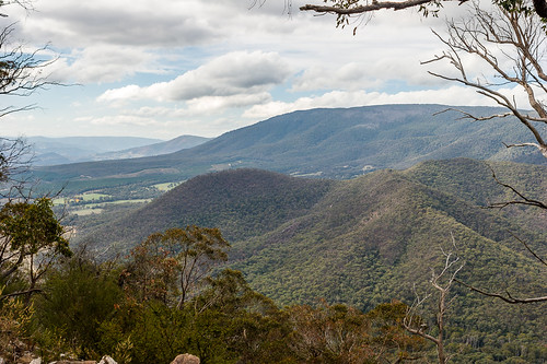 Cathedral Range State Park from Neds Peak, Victoria