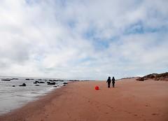 En Marte tambin hay playa y familias con perros de goma (Victoria Marte) Tags: playa cadiz natural azul microcuatrotercios