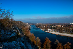 Vltava river (monty1511) Tags: landscape river vltava nelahozeves czech czechrepublic castle winter trees canon krajina zima reka outdoor