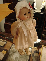 """VINTAGE WALKING DOLL.  AS-IS,  $65. • <a style=""""font-size:0.8em;"""" href=""""http://www.flickr.com/photos/51721355@N02/30741573975/"""" target=""""_blank"""">View on Flickr</a>"""