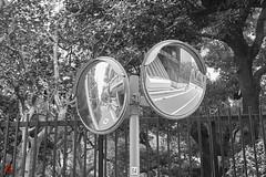 Duality (gullevek) Tags: blackandwhite chiyodaku fujixt1 fujifilm fujinonxf35mmf2rwr jp japan mirror nagatacho people things tokyo tokyoto モノクロ 人間 千代田区 日本 東京 東京都 永田町 物 鏡 minatoku tōkyōto