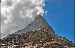 Going down from the Cabane of  Matterhorn & Hrnli. No. 1774. (Izakigur) Tags: cervin cervino zermatt helvetia flickr switzerland schwyz swiss nikon nikkor dieschweiz feel suiza liberty lepetitprince europa europe svizzera suizo sussa suisia sch lasuisse climb every mountain climbeverymountain kantonwallis wallis valais hiking climbing thelittleprince myswitzerland musictomyeyes laventuresuisse
