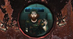 rusty (aarontj90) Tags: hello wave snapback beard hipster cool jesus yeezus ginger boy sl secondlife submarine sea trapped goodbye
