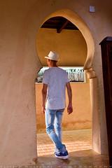 Pass by (T Ξ Ξ J Ξ) Tags: morocco chefchaouen sefasawan d750 nikkor teeje nikon2470mmf28 blue city kasbah
