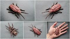 Lily Beetle by Damian Malicki (Artyom Romenskiy) Tags: origami ioio vi 2016 damian malicki lily beetle