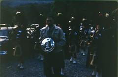 img133 (foundin_a_attic) Tags: man plac scotland scotish band kilt tartan bag pipes setember 1964