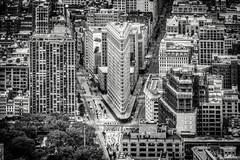 Day 193-365 Flatiron Building (giuliomeinardi) Tags: newyork flatirong building empire freedom tower big apple usa grattacielo rockfeller edificio citt city architecture architetture bw bianco e nero black white giulio meinardi canon 24105
