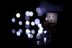 Danbo-keh (Xiao-Bu) Tags: canon5dmarkii ef35mmf14lusm danbo bokeh christmaslights ledlights