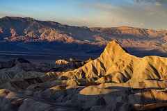 Zabriskie Point (Maddog Murph) Tags: zabriskie point death valley np national park badwater basin arrow clouds storm approaching sky mountains desert weather worn elements erosion washing