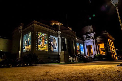 Geelong Town Hall Xmas Projections-9