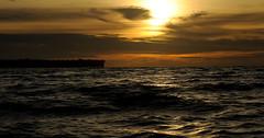 Sunset over the sea ( V ) Tags: ocean sunset sea rural indonesia asia southeastasia village indianocean aceh islan pulau singkil banyak indonzia pulaubanyak