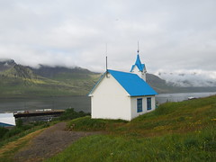 A church in a small town in the Eastfjords!
