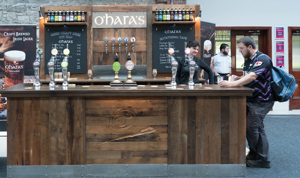 IRISH CRAFT BEER FESTIVAL IN THE RDS LAST WEEKEND IN AUGUST 2015 [O'HARA'S] REF-107280
