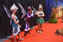 D23 Expo 2015 (RayCisco) Tags: tinkerbell disney periwinkle vidia cosplayers anaheimconventioncenter d23expo disneycosplay