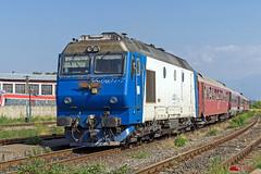 65-0927-7 of CFR Calatori (Vlady 29) Tags: railroad electric gm general diesel engine rail railway zug motors romania da sua freight craiova sibiu cfr egm zuge calatori electroputere feroviar