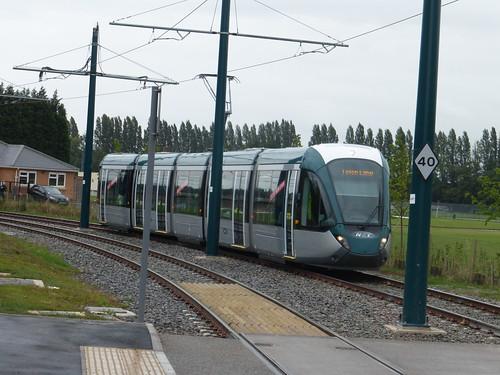 Nottingham Express Transit (Phase 2) - Tram 233