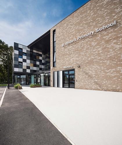 St. Brides Primary School by Stallan-Brand