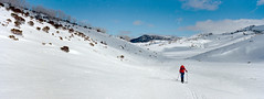 068_013 (Rob Walwyn) Tags: snow mountains film 35mm skiing kodak snowy hasselblad xpan f4 45mm ektar guthega illawong
