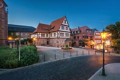 Friedensplatz Heilbad Heiligenstadt (franke.ink) Tags: light night altstadt hdr heilbad heiigenstadt