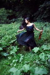 Elisa-marie (rossman181) Tags: musician music motion blur girl field grass contrast dark asian jump running violin freeze instrument string