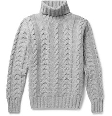 Cable knit wool cashmire blended turtleneck Hacket (Mytwist) Tags: wool fashion modern fetish sweater craft style passion and turtleneck knitted timeless pullover pulli cableknit rollneck rollkragen webfound hacket cashmereblend mytwist aranstyle 420dollar