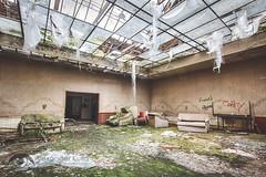 """Hotel """"Brandschaden"""" (Alexander Kulla) Tags: hotel alt decay zimmer lp brand feuer harz verlassen verloren niedersachsen lostplace brandschaden"""