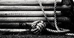 Monkey Fist (Yelbad) Tags: rope nautical monkeyfist