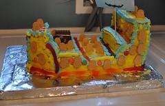 The Cake... (-sim-) Tags: cake minions adrianturns5 adrianbirthday2015