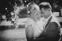 Wedding (siebe ) Tags: wedding people blackandwhite monochrome groom bride couple marriage trouwen 2015 bruid trouwfoto trouwreportage bruidsfoto siebebaardafotografie wwweenfotograafgezochtnl