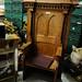 Pine throne