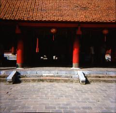 Temple of Literature, Hanoi, Vietnam (daveknapik) Tags: 120 film mediumformat temple lomo lomography kodak vietnam temples hanoi portra templeofliterature kodakportra400 kodakportra