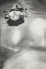 The calm (Mel Vicary Photoworks (Photography)) Tags: portrait blackandwhite selfportrait monochrome swimming underwater swimmingpool underwaterphotography underwaterphot