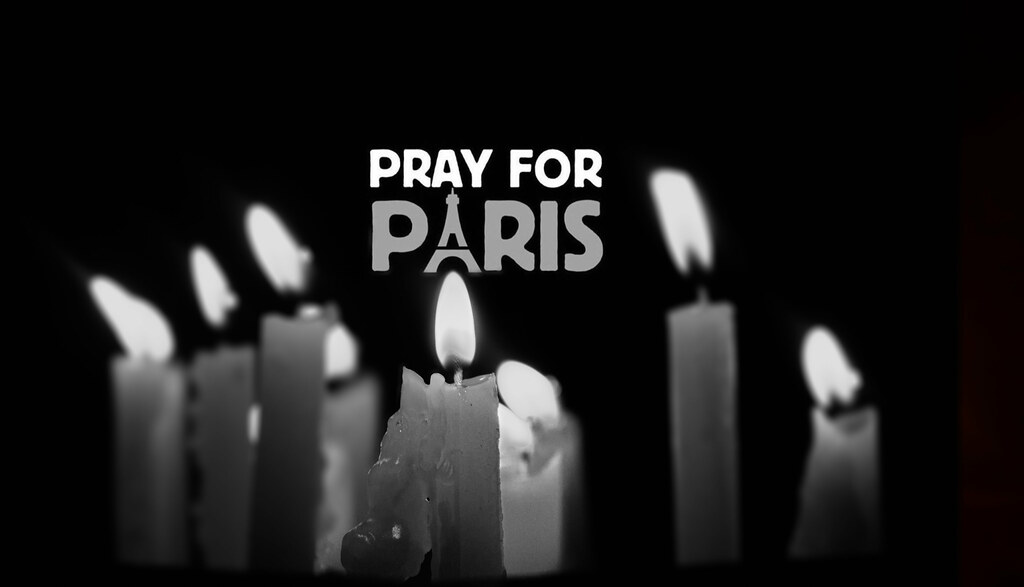 Pray For Paris by Nithi clicks, on Flickr