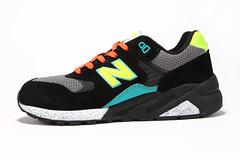 NB MRT580BK Womens New Balance Mesh Black Yellow Blue Shoes (RobertThrashy) Tags: shopping discount cheap runningshoes coupon womensshoes retrostyle onlinestore newbalance580 fashionsneakers popularshoes