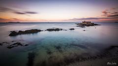 The castle of ocean (A.S photographie) Tags: ocean sunset sea seascape color castle monument landscape nikon nikonfrance