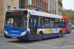 Stagecoach Merseyside & South Lancashire 24182 PO59MXS (Will Swain) Tags: city uk travel england west bus buses liverpool october britain south centre north transport lancashire vehicles vehicle seen 31st stagecoach merseyside 2015 24182 po59mxs