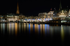 Binnenalster bei Nacht (digital_underground) Tags: longexposure light germany deutschland lights long exposure nacht sony hamburg weihnachtsmarkt alpha rathaus alster reflexion nicht 6000 binnenalster langzeitbelichtung a6000 bestcapturesaoi elitegalleryaoi
