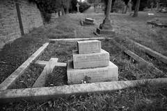The grave of Clara and Arthur Toovey (IanAWood) Tags: pinner londoncemeteries londonboroughofharrow walkingwithmynikon nikkorafs24mmf14g pinnercemetery nikondf