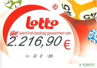 Lotto - €2.216,90
