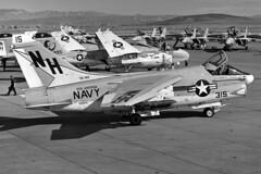 VA-192 A-7E Corsair II BuNo 159655 (skyhawkpc) Tags: airplane aircraft aviation navy naval 1980 usnavy usn intruder grumman a6e ltv corsairii nasfallon a7e lingtemcovought 159655 159895 va95greenlizards nh502 va192goldendragons nh512 nh315