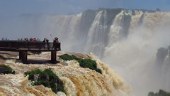 Iguazu Falls (arkaitz ZO) Tags: travel brazil nature landscape travellers ngc adventure waterfalls cataratas iguazu 1000views devilsthroat globetrotter gargantadeldiablo iguazufalls mochileros travelphotography topf20 cataratasdeiguazu iguazuwaterfalls 30faves 50faves wildnature 20favs 40faves amazingscenery adventureclub adventurephotography 75faves stunningplaces