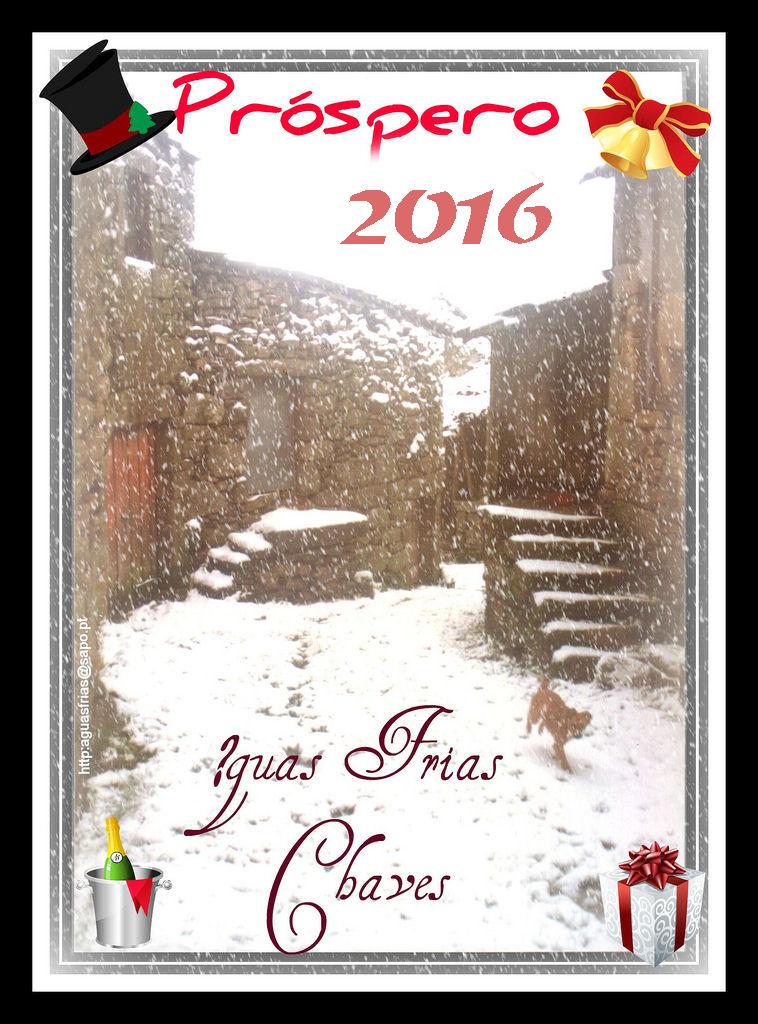 Postal de Ano Novo 2016