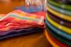 colorful (jojoannabanana) Tags: color colors colorful bokeh fiestaware dinnerware 3652015