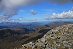 Looking west from Beinn Dearg