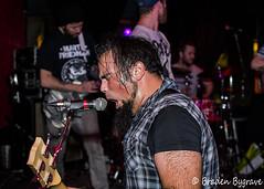 D7K_2231 CC (Braden Bygrave) Tags: show toronto rock drums concert lowlight nikon drum bass guitar flash crowd singer bassist drummer nikonphotography d7100 nikonphoto yn460 nikond7100