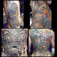 Some XXL Pieces I finished the n 2015 #pooch #alteredstatetattoo