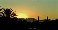 Ocaso en Verde (jerodamor@yahoo.com.mx) Tags: ocasos sol torren coahuila mxico
