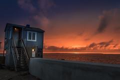 Tiny house (Massimo Buccolieri) Tags: hundested halsnæsmunicipality denmark dk seascape ocean sunset coucherdusoleil solnedgang tramonto pôrdosol lapuestadelsol sonnenuntergang